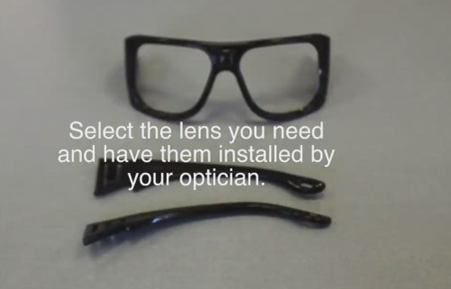 Full Face Mask Optical Lens Support - Have your optician install your prescription lenses