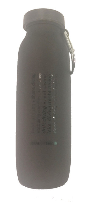 Silicone Water Bottle - Black