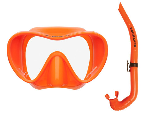Trinidad / Apnea Free-Diving Set - Orange