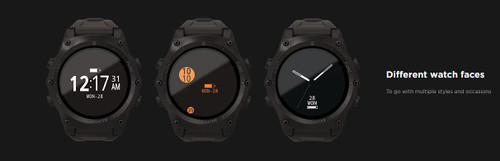 Shearwater Teric Dive Computer - Watch Face Options