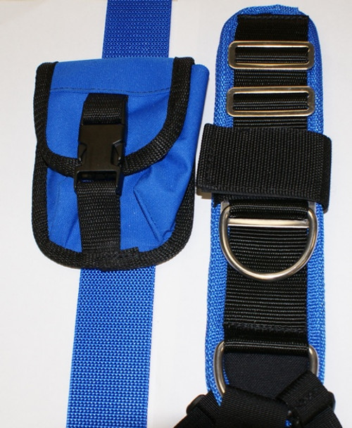 Deluxe Harness - Blue