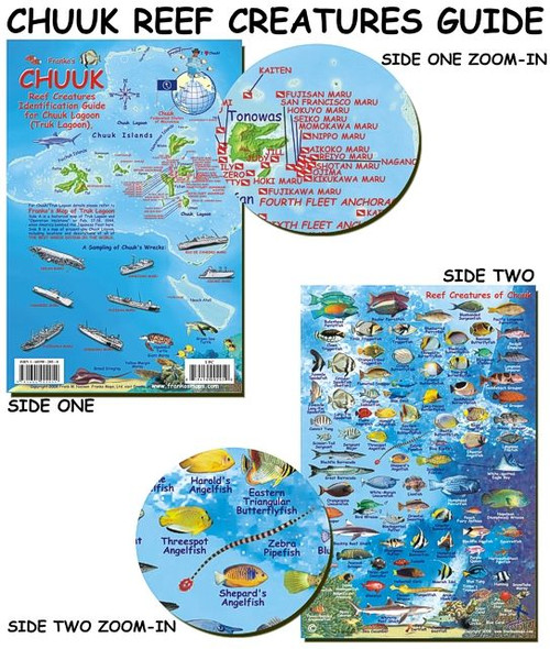 Waterproof Fish ID Card - Truk Chuuk Lagoon