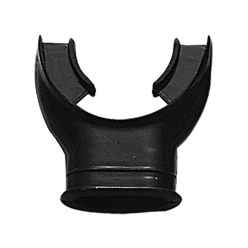 Black Silicone Mouthpiece for Snorkel or Regulator