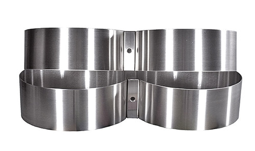 Tank Bands Stainless Steel 8.0""