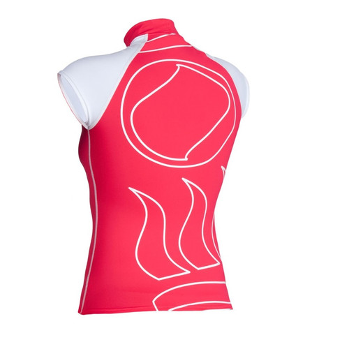 Short-Sleeve Rashguard - Red Back