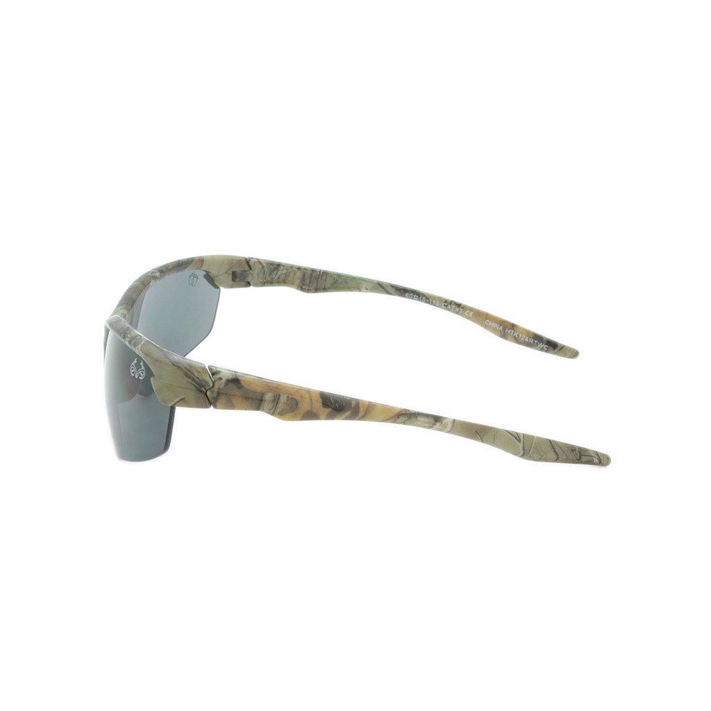 HangTen Kids RealTree Sunglasses Smoke Lens Camo Frame Camo Temple Shark Eyes HTK12ARTWC A-S