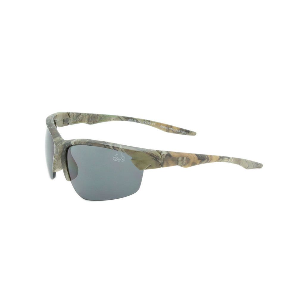 HangTen Kids RealTree Sunglasses Smoke Lens Camo Frame Camo Temple Shark Eyes HTK12ARTWC A