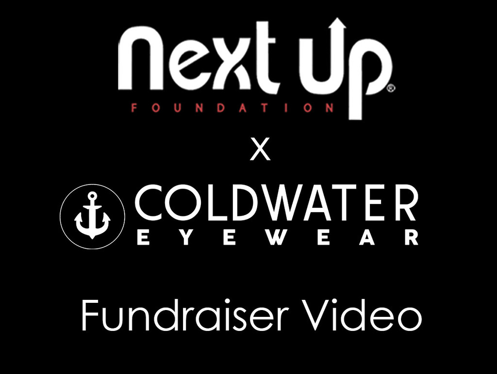 Cold Water Eyewear & Next Up Foundation Skateboarding Fundraiser Video