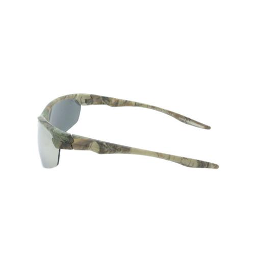 HangTen Kids RealTree Sunglasses Silver Lens Camo Frame Camo Temple Shark Eyes HTK12CRTWC A-S
