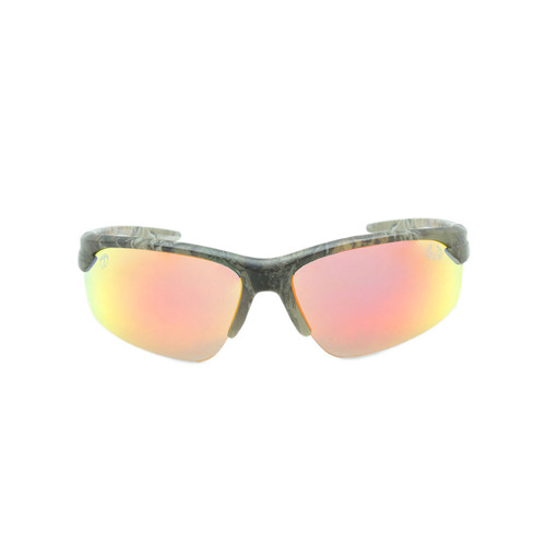 HangTen Kids RealTree Sunglasses Red Real Revo Lens Camo Frame Camo Temple Shark Eyes HTK12DRTWC A-F