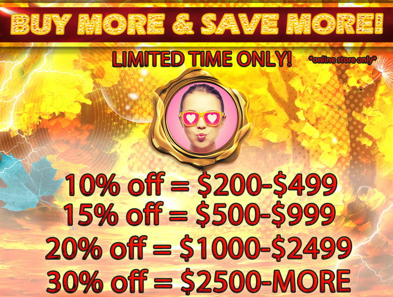 Fall Bulk Sale is Here!