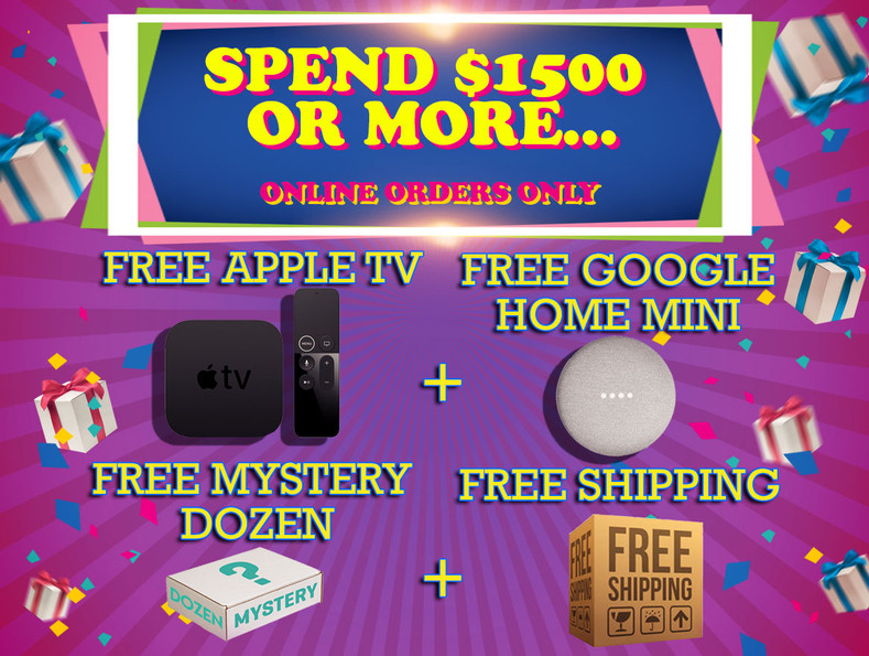 Gadgets Gift With Purchase!