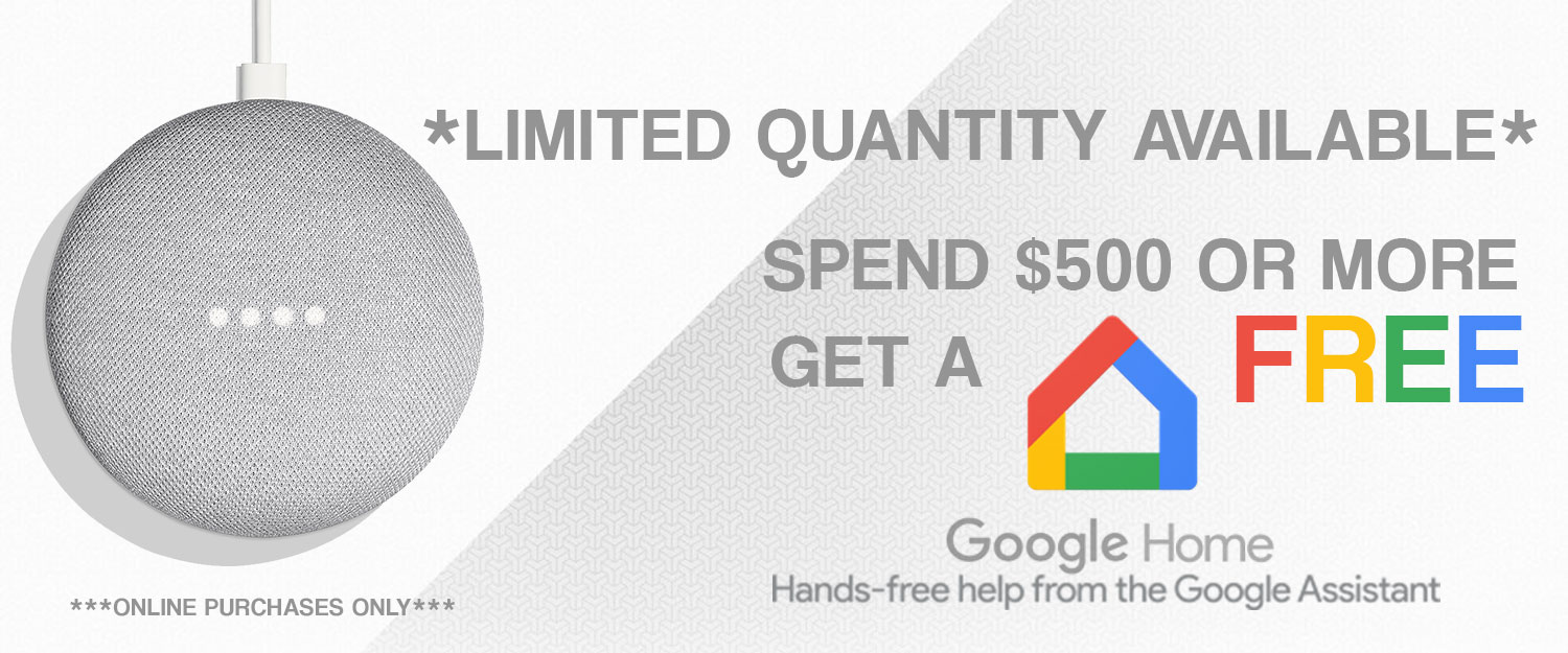 Google Home Mini - Gift with Purchase - Free