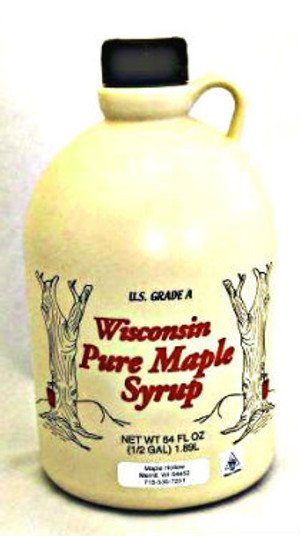 128oz (gallon) Pure Maple Syrup Amber Rich / Medium Amber Kosher