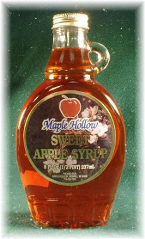 Sweet Red Apple Syrup - 8 oz jar - 1 unit