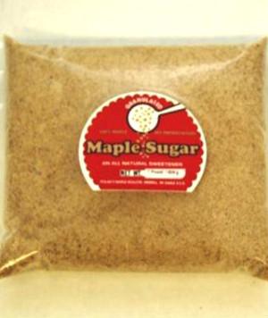 Pure Maple Sugar Granules - Bulk per pound Kosher