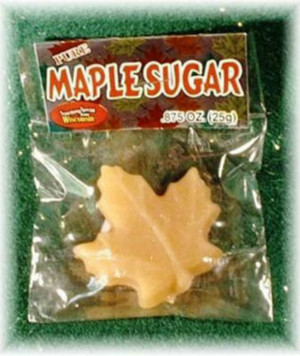 Maple Sugar Leaf - 7/8 oz - 1 unit Kosher