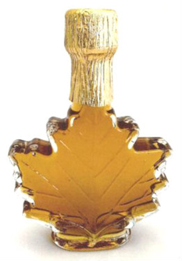500 Pure Maple Syrup Amber Rich / Medium Amber Glass Maple Leaf Kosher