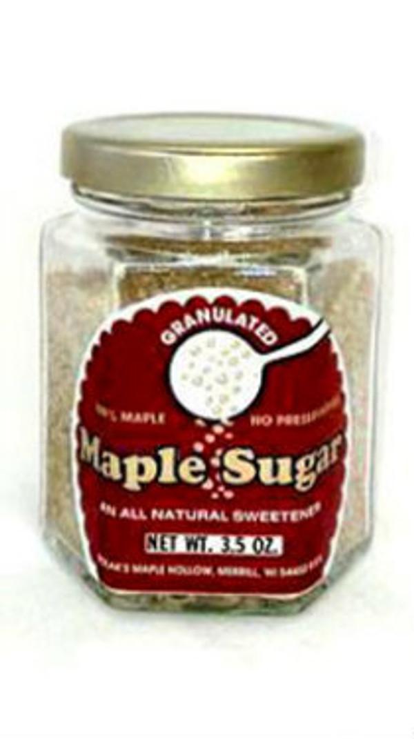 Maple Sugar Granules - 3.5 oz jar - 1 unit Kosher
