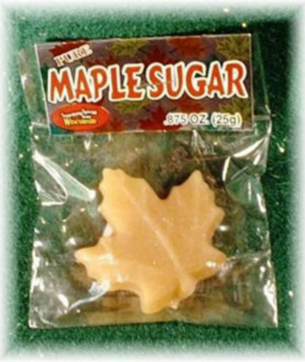 Maple Sugar Leaf - 7/8 oz - 1 unit Kosher