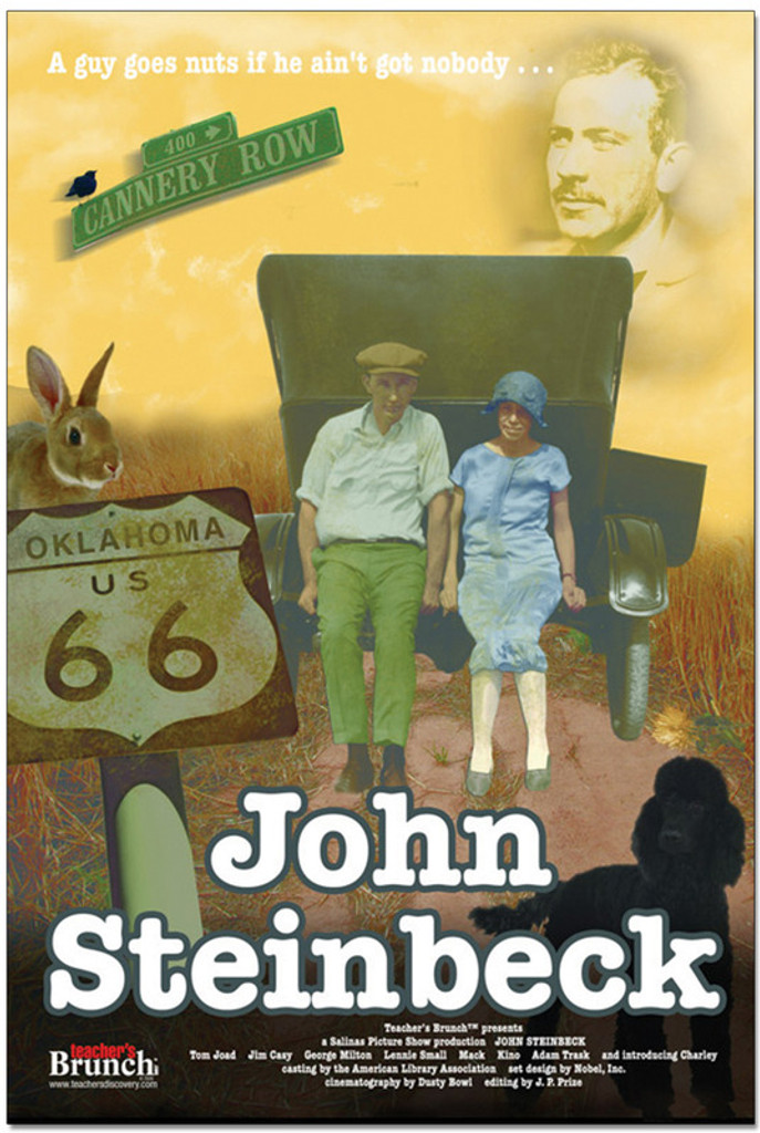 John Steinbeck Author Movie Poster