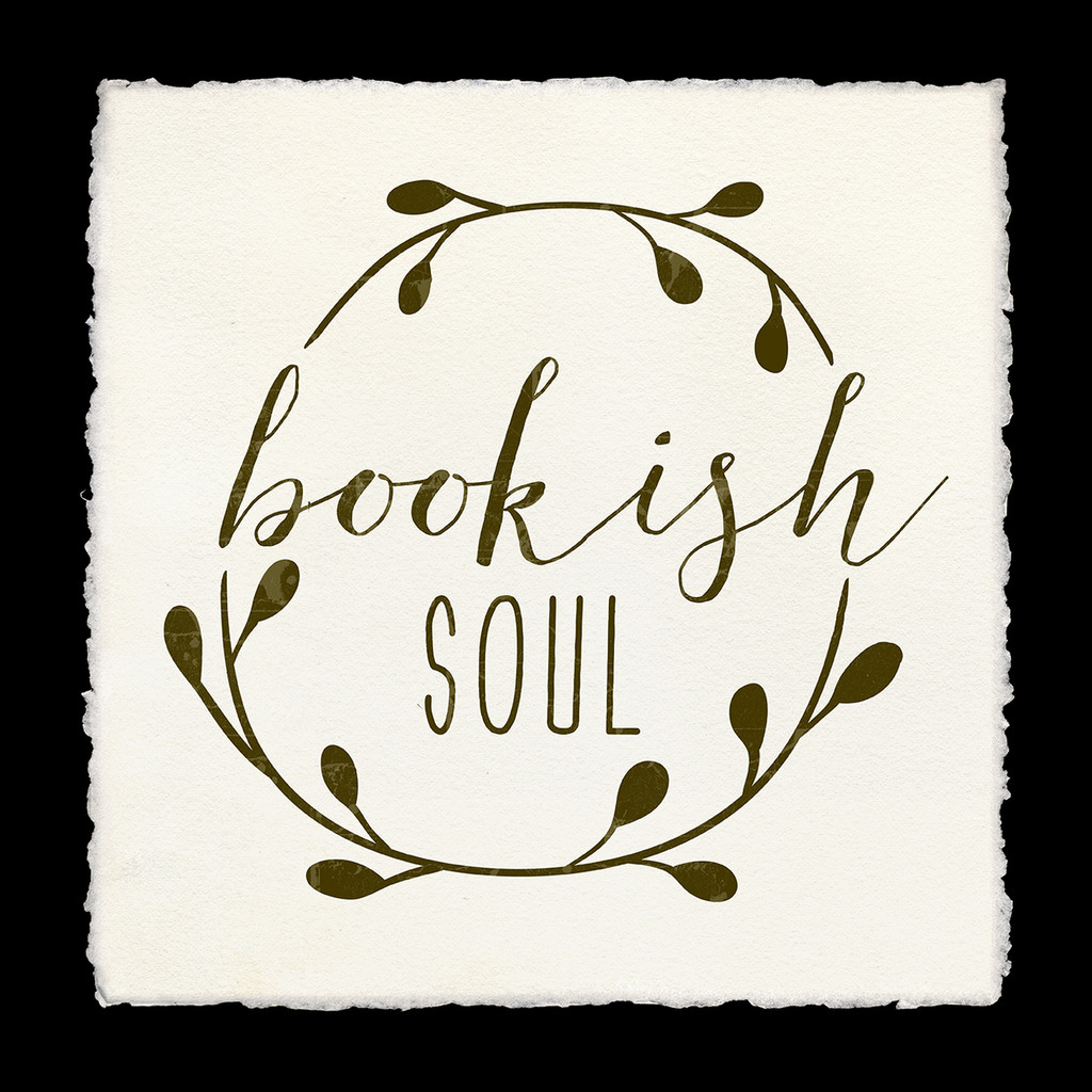 Bookish Soul Fine Art Print. Literary Inspirational Print For Classroom, Library, or Home.
