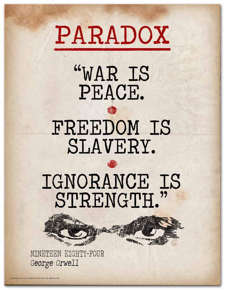 Paradox- Literary Terms