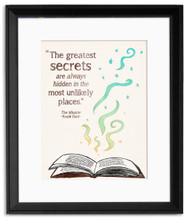 Beloved Children's Literature Inspirational Quote Poster Set