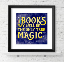 Literary Reading Poster Set of 3 - Fine Art Print For Classroom, Library, or Home.