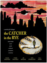 The Catcher in the Rye - J.D. Salinger - Classic Novel Fine Art Print for Home, Office, Library, or Classroom
