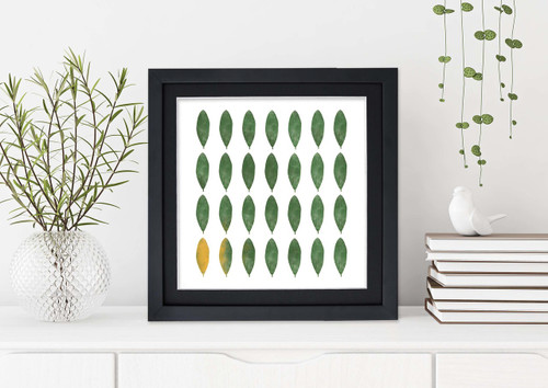 Rhododendron Leaves - West Virginia State Flower - Fine Art Print for Nursery, Playroom, Classroom, or Home