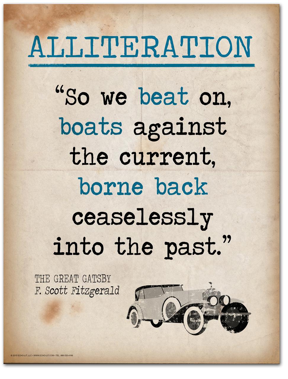 Alliteration Charts | English Grammar Charts | Depicta English Charts