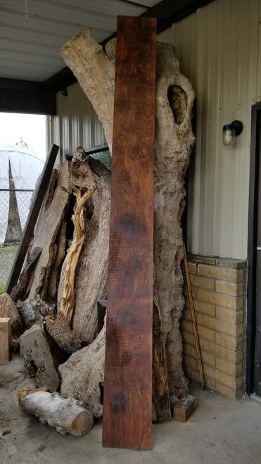 Historical Old Growth Redwood Burl Lumber RED14c05