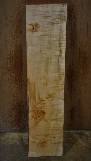 Historical Japanese Maple Tiger Stripe Lumber JMP14c01