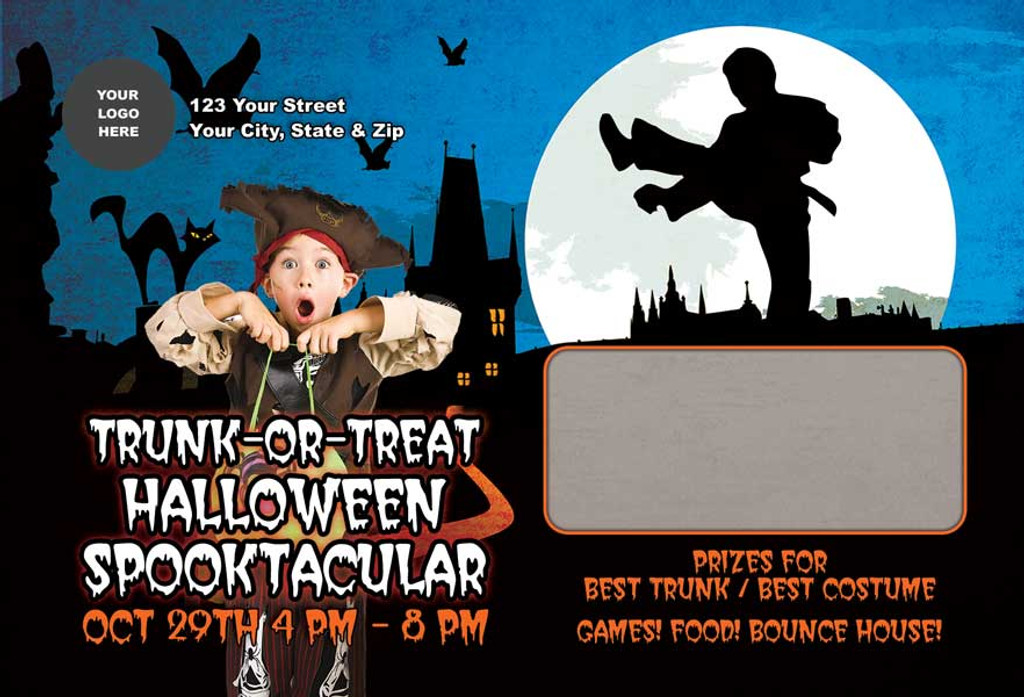 Trunk or Treat Halloween Spooktacular