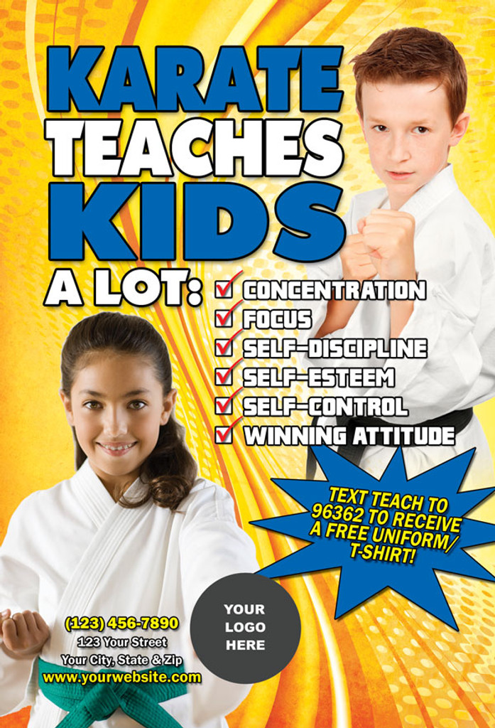 Karate Teaches Kids V1