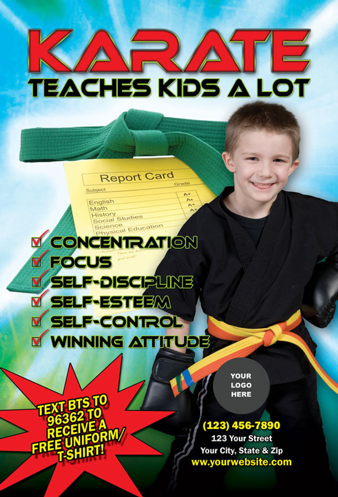 Karate Teaches Kids V2