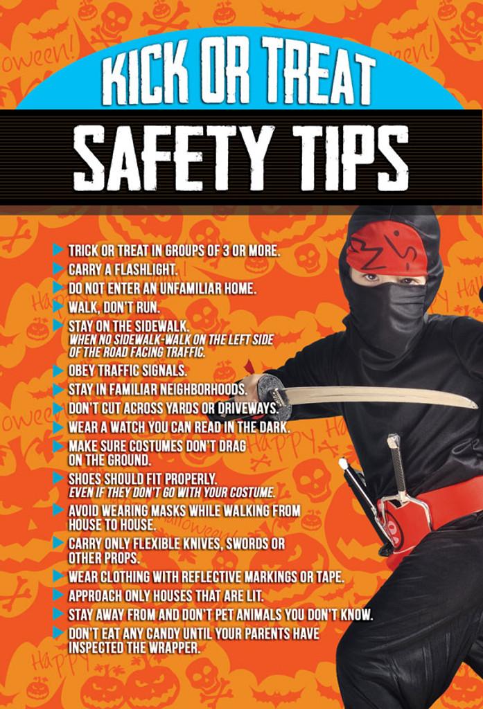Halloween Safety Tips V8