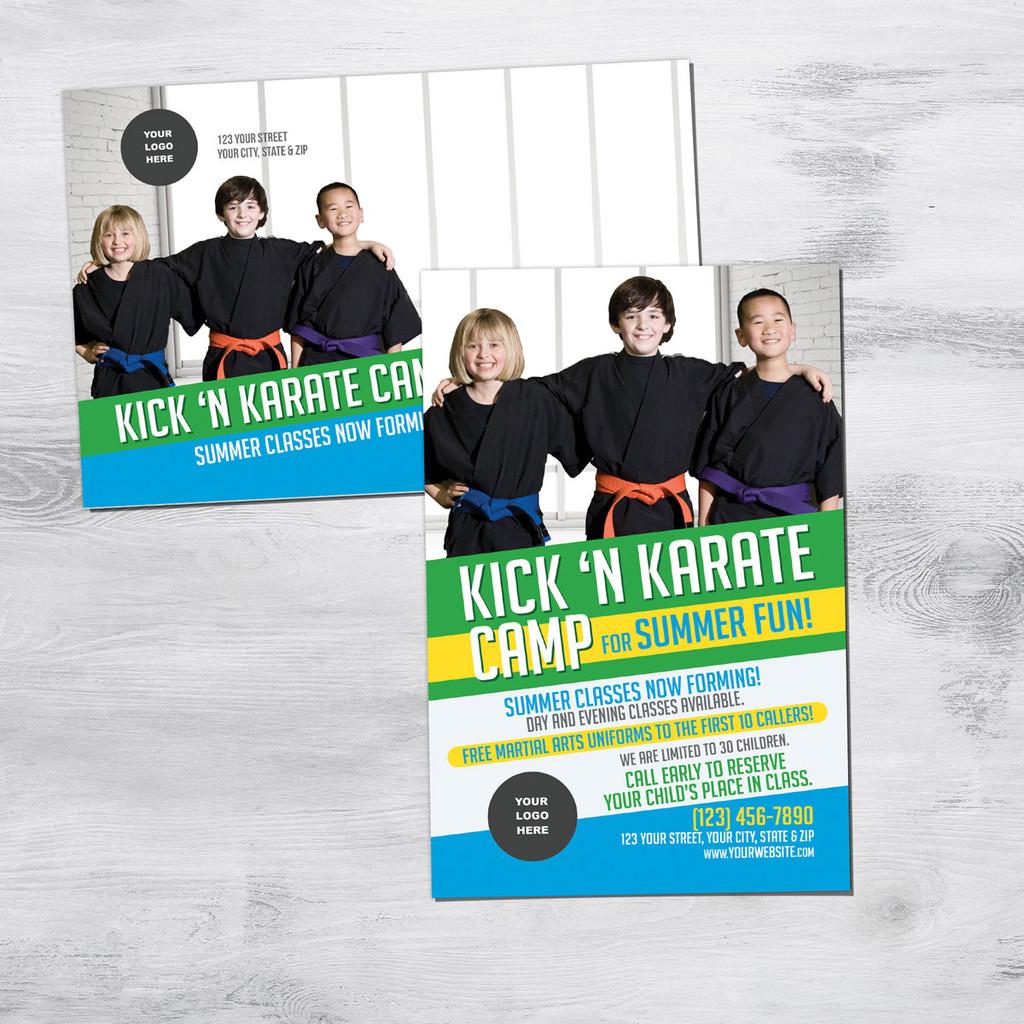 Kick 'N Karate Camp V2