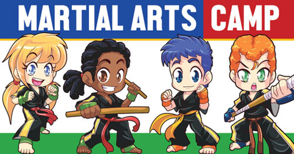 *NEW!! Kickin' Martial Arts/Karate Camp Vinyl Banner V3