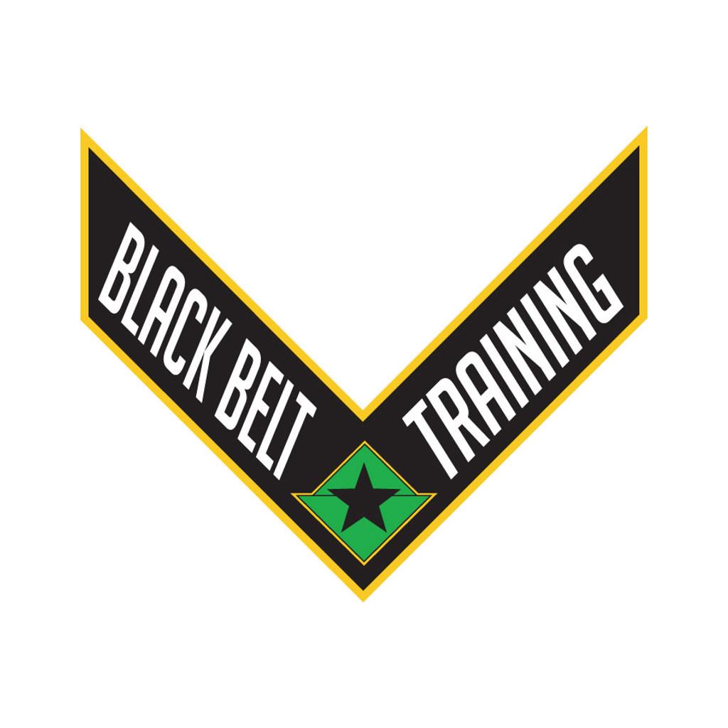 PMA Training Patches - Black Belt