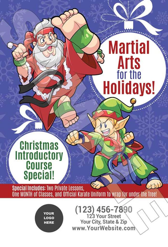 **NEW* Santa & Elf Martial Arts for the Holidays