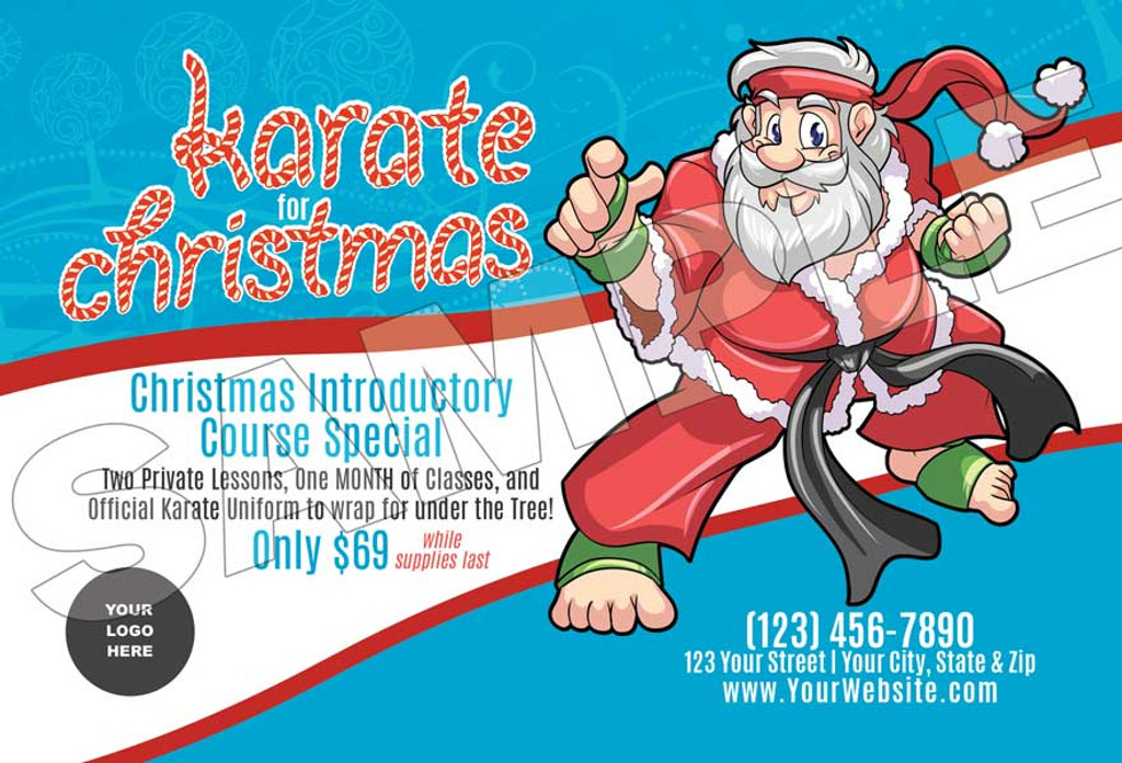 **NEW* Santa's Karate for Christmas