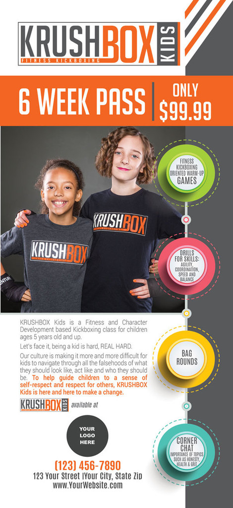 KrushBox Kids  Rack Cards