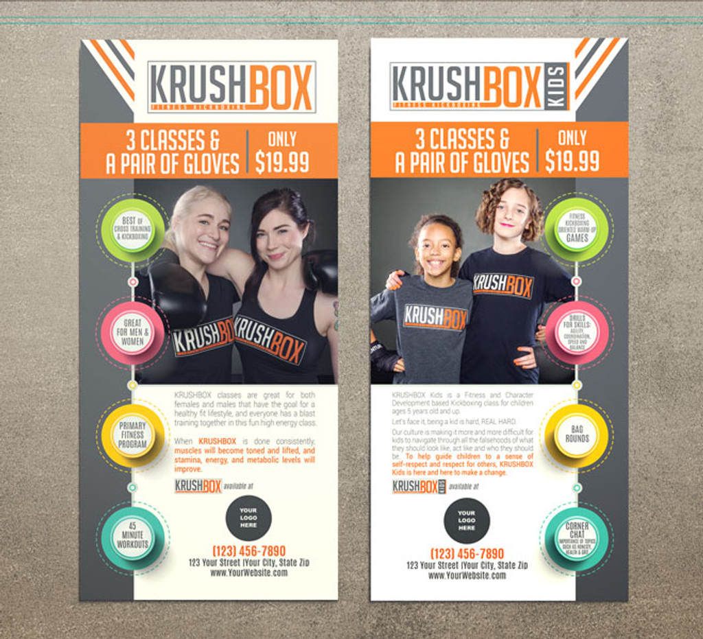 KrushBox Adults Rack Cards
