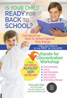 *NEW* Back to School Karate for Concentration V4
