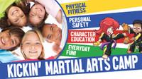 *NEW!! Kickin' Martial Arts/Karate Camp Vinyl Banner V4