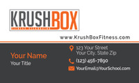 KrushBox Business Card Simplistic