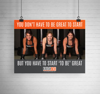 You Don't Have to Be Great to Start KrushBox Poster