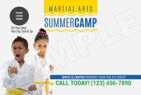 *NEW!! Martial Arts Summer Camp Wavy V2